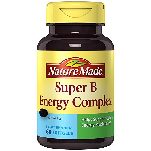 Nature Made Super B Complex Full Strength Mini Softgels, 60 Ct