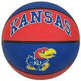 NCAA Kansas Jayhawks Crossover Full Size Basketball by Rawlings
