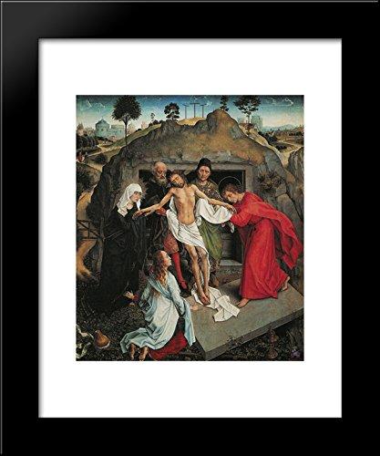 Lamentation Over the Dead Christ 20x24 Framed Art Print by Mantegna, Andrea (Andrea Mantegna The Lamentation Over The Dead Christ)