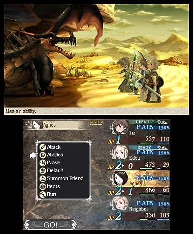 Nintendo Bravely Default - Juego (Nintendo 3DS, RPG (juego ...