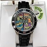TMNT Ninja Turtle Black Light Up Digital Watch