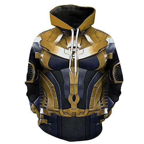 Super Villain Cosplay Hoodie Halloween Costume Jacket Workout Gym Hoody -