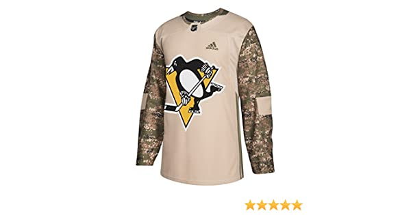 1c696844f Amazon.com   adidas Pittsburgh Penguins NHL Veterans Day Jersey   Sports    Outdoors