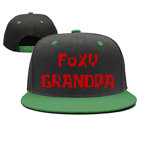 25b7d273 DreDramaa Flat-Brim Baseball Caps Foxy Grandpa Snapback Unisex Adjustable  Hat
