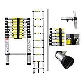 SOTECH - 8.5ft telescopic ladder - Aluminium ladder