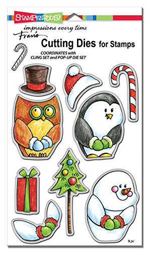 Stampendous DCS5091 Winter Friends Die Cut (Fun Friends Die Cut)