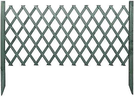 GJNVBDZSF Cl/ôture de Jardin en Bois Massif Enfant Garde-Corps r/étractable r/ésistant /à la Corrosion en Bois Artisanal Conception de Pointe en Plein air
