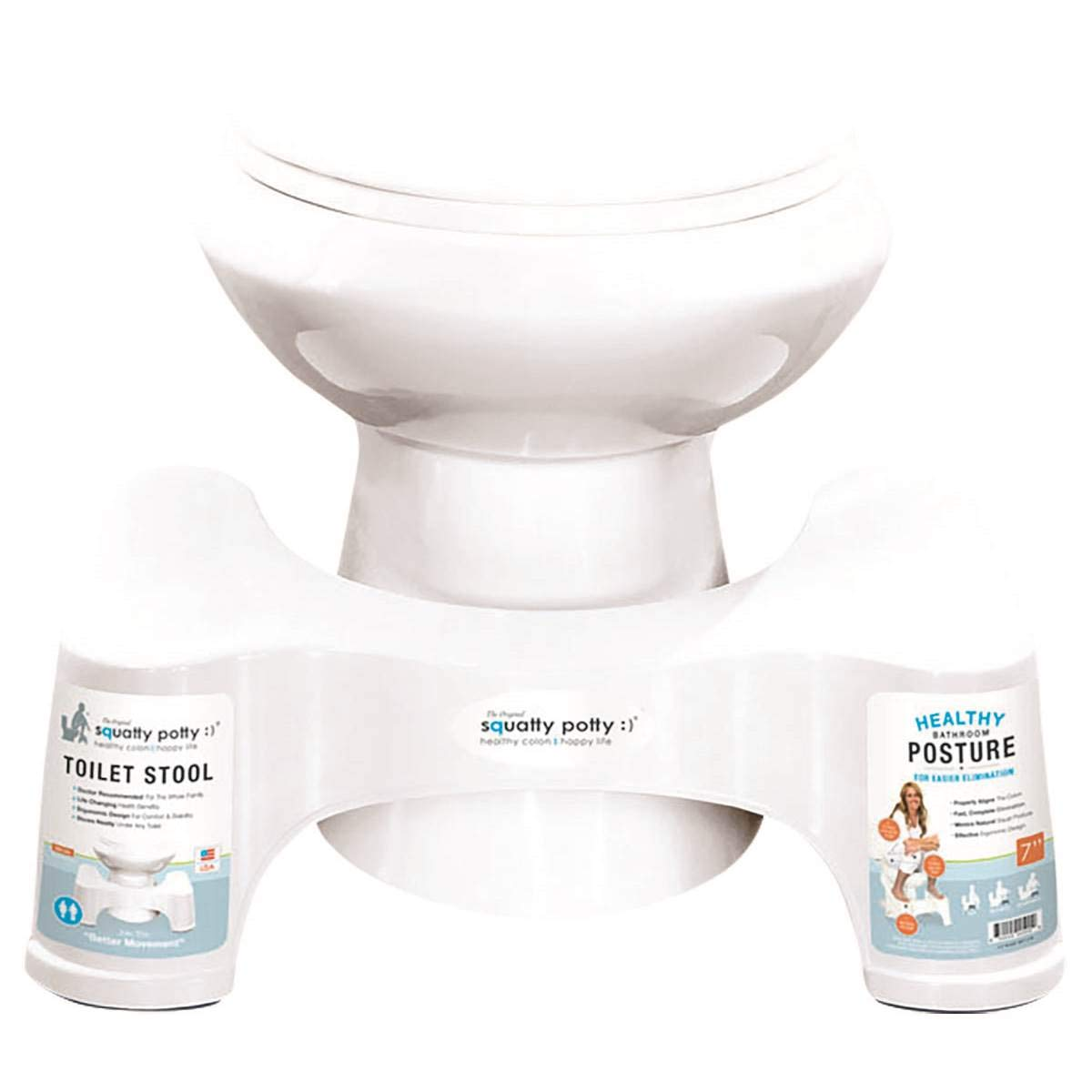 MattsGlobal Durable and Easy to Clean Squatty Potty Toilet Stool