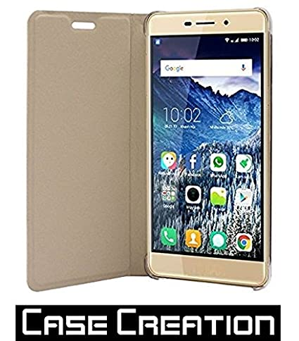 sale retailer c4a03 b3d1b Case Creation™ Imported Flip Leather Cover Flip: Amazon.in: Electronics
