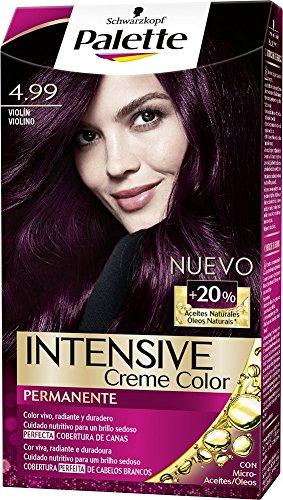 Palette Intense Color Cream Coloración Permanente, Tono 4.99 Violin - 115 ml