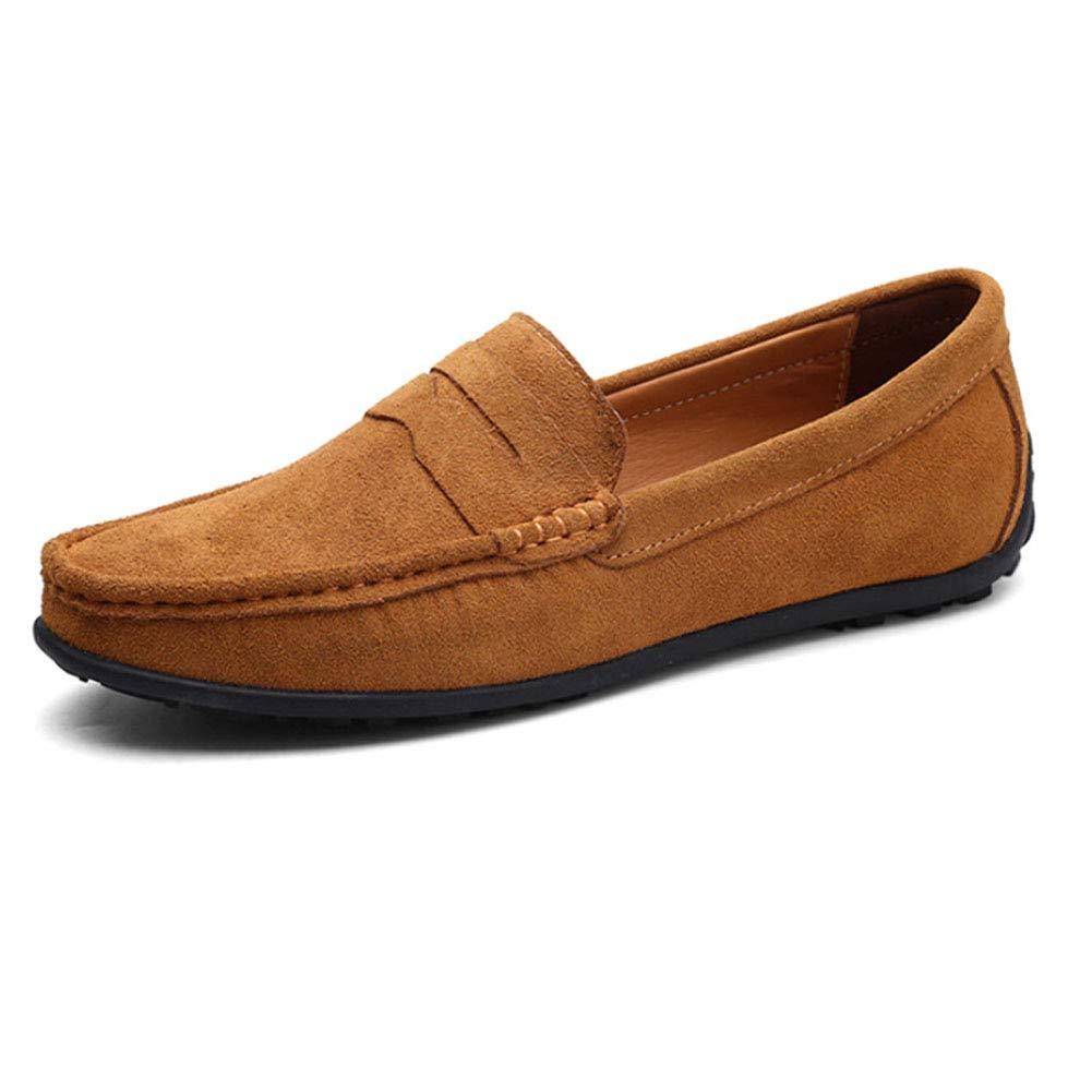 Tenthree Zapatos para Hombre Mocasines - Náuticos Ligero Confortable Suela Blanda Cuero Casual Respirable Zapatos de Trabajo Conducir: Amazon.es: Zapatos y ...