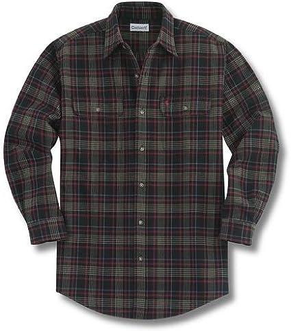 Carhartt Camisa de franela de cuadros pesados para hombre - Negro - XX-Large: Amazon.es: Ropa y accesorios