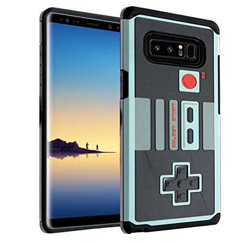 Samsung Galaxy Note 8 Case, DURARMOR Note 8 NES Game Controller Dual Layer Hybrid ShockProof Ultra Slim Armor Air Cushion Defender Protector Cover For Sale