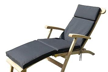 Super Garden Furniture Cushion Cushion For Garden Steamer Chair In Black Download Free Architecture Designs Ogrambritishbridgeorg