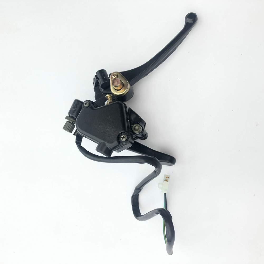 AH Thumb Throttle with Dual Brake Lever Assy for 50cc 90cc 110cc ATV Dirt Bike Taotao Sunl Kazuma Fit 7//8(22mm) Diameter Handle Bar