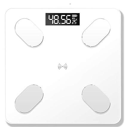 FLy Carga APLICACIÓN Bluetooth Inteligente Electrónica Salud Humana Escala Peso Medida Grasas Corporales Balanzas electrónicas (