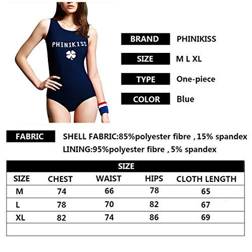 5cb14b551aa56 FOCLASSY Bikini Damen Sport Bikini Badeanzug One Piece Long Sleeves ...