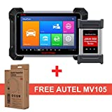 Autel MaxiCOM MK908P Diagnostic Scanner - OBD2 Automotive Scan Tool with MaxiVideo MV105 Including ECU Coding, ECU Programming and Video Inspection for Professional Technicians