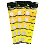 3x 5pack Exell EB-CR1616 3V Lithium Coin Cell Battery Replaces DL1616