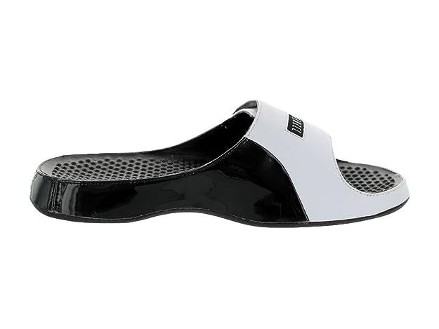 06de2fc5322 Amazon.com | Nike Jordan Alpha FLoat Premier Men Flipflops  Black/Concord/White 414786-002 (SIZE: 13) | Shoes