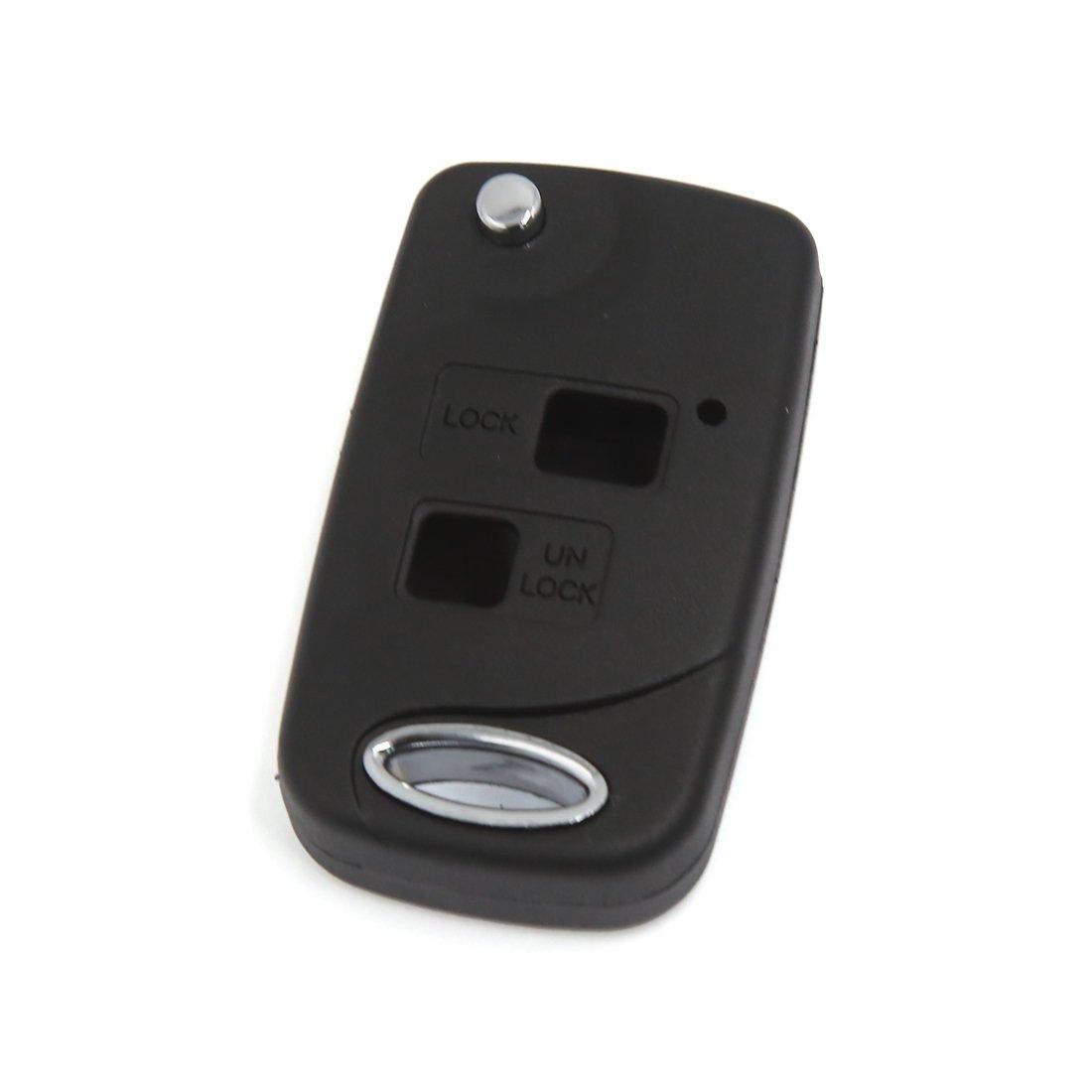 Sourcingmap 2-Botón Llavero Mando Control Remoto Carcasa ...