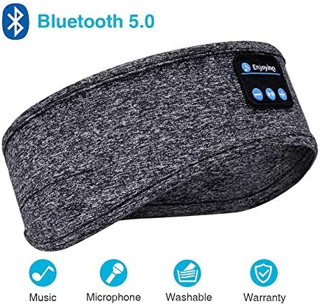 Headphones Bluetooth Headband Speakers Sleeping product image