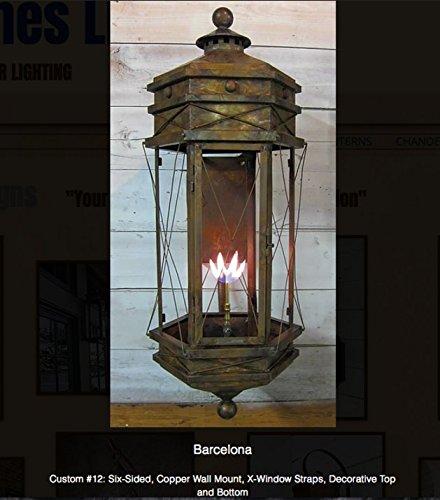 Amazon Com St James Barcelona Copper Lantern Home Kitchen