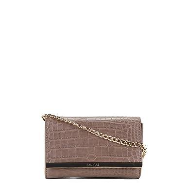 ccee5fd6e Bolsa Colcci Mini Bag Croco Placa Feminina - Marrom Claro - Único ...