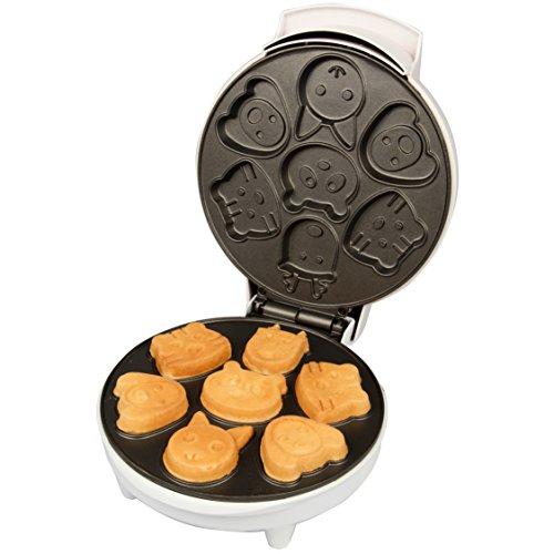 Animal Mini Waffle Makes 7 Fun, Shaped Non-stick