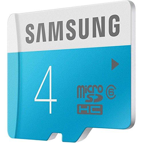 Samsung MB MS04D MicroSDHC 4 GB Class 4 Memory Card