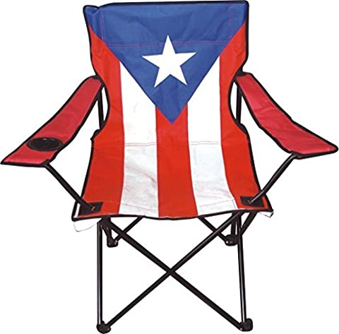 American Dream Home Goods 730-PR Puerto Rico-Large Camping Chair - Puerto Rico Kitchen