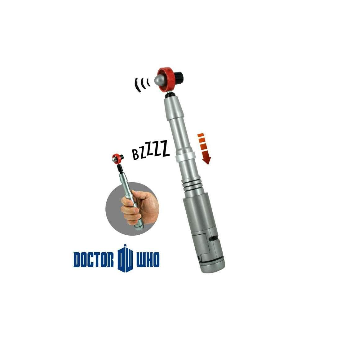 Doctor Who - The Fourth Doctor's Sonic Screwdriver with Sound FX Se7en20 UT05102