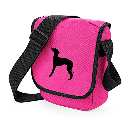 Colours Black Silhouette Bag Iggy On Of Gift Greyhound Pink Choice Dog Reporter Italian Shoulder BRvwSP