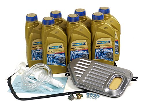 Blau F2A1301-C BMW 330i ATF Automatic Transmission Fluid Filter Kit - E46-2001-06 w/ 5 Speed Automatic ZF A5S 325Z