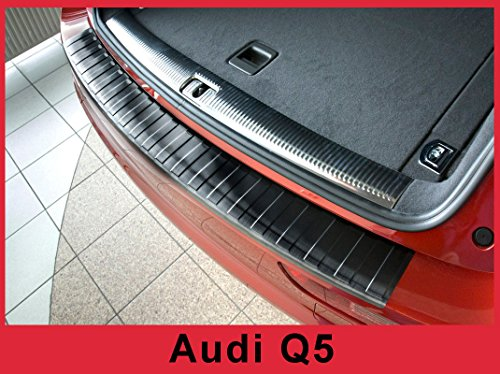 2008 – 2017 Audi Q5 SQ5 – Stainless Steel Graphite Rear Bumper Protector Guard