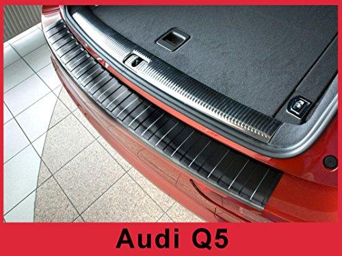 Audi Rear Bumper - ZIC Stainless Steel Graphite Rear Bumper Protector Guard fits 2008-2017 Audi Q5 SQ5