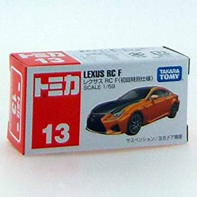 Tomica No.13 Lexus RC F (first special edition) by tomica