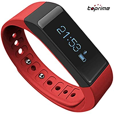 Toprime® Fitness Tracker Wearable Waterproof Smart Band with Multi-Functions
