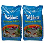 20kg Webbox Rainbow Pellets Floating...