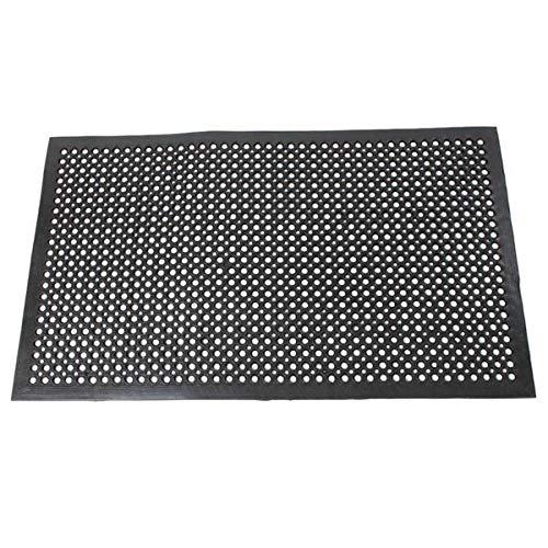 Magace Bar Mat 35'' x 59'', Quality Rubber Bar Service Mat, Black Coffee Bar Mats, Spill Mat for Counter-Top by Magace