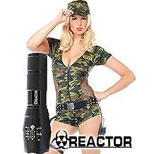 NEW REACTOR XM-L T6 MODEL G2500 3X Brighter Than G700 Tactical Flashlight