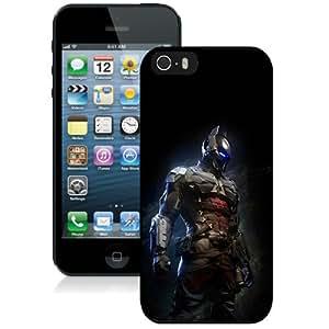Beautiful And Unique Designed Case For iPhone 5 With Ah Arkham Night Dark Batman Digital Illust Art Phone Case
