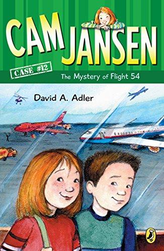 Cami Binding - Cam Jansen And The Mystery Of Flight 54 (Turtleback School & Library Binding Edition) (Cam Jansen Adventure)