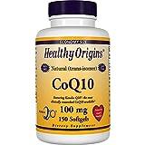 Healthy Origins CoQ10 (Kaneka Q10) 100 mg, 150 Softgels Review