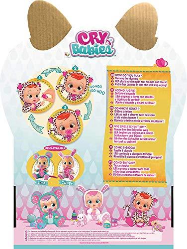 IMC Toys 10574 Lea - Muñeca Bebés Llorones, Multicolor