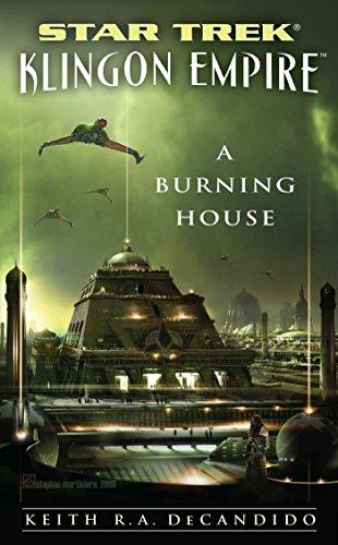Star Trek: The Next Generation: Klingon Empire: A Burning House: