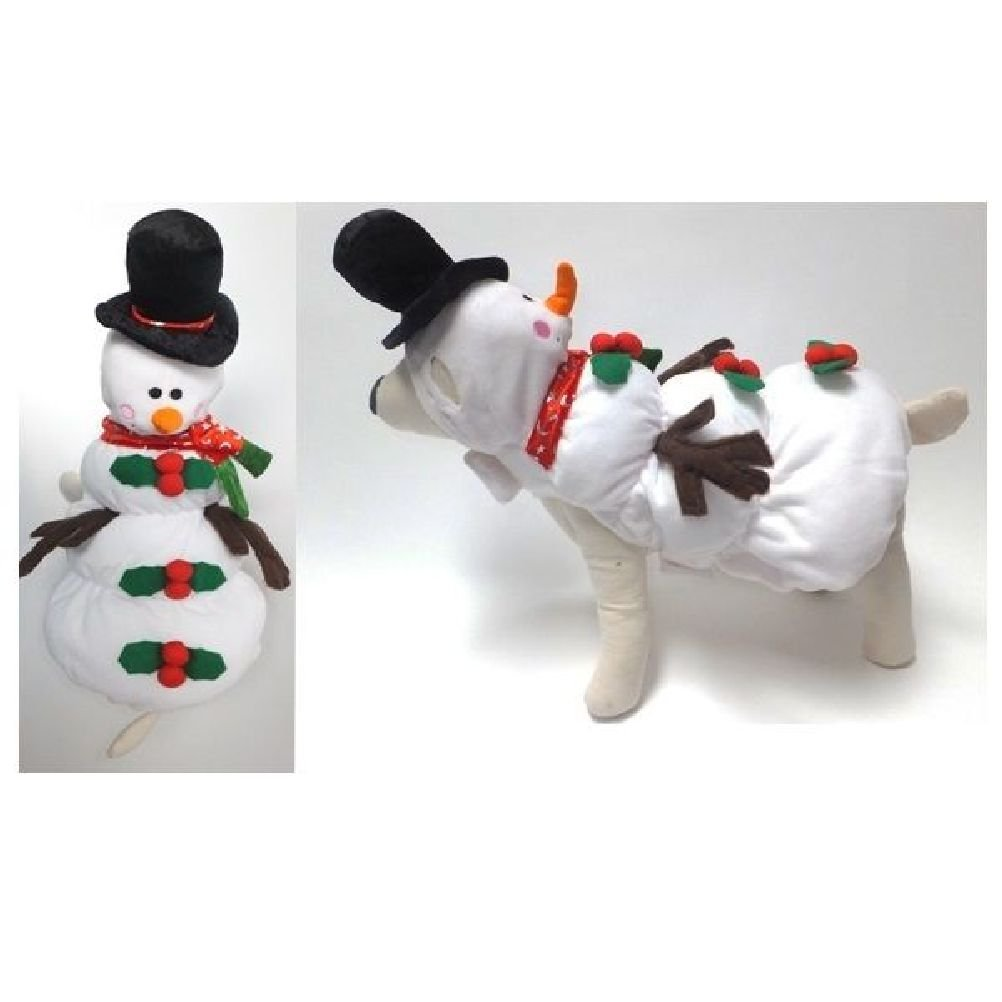 Quality Dog Costume Snowman Costumes Dress Your Dogs As Frozen Winter Snowmen