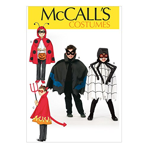 McCall Pattern Company M6998 Children's/Boys'/Girls' Costumes, Size KID in One Envelope -