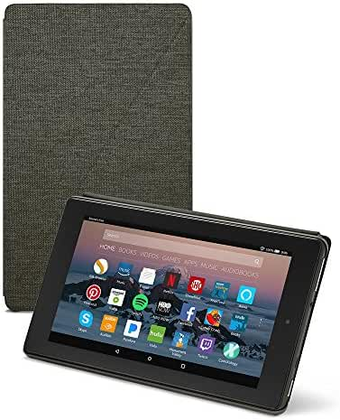 All-New Amazon Fire 7 Tablet Case (7th Generation, 2017 Release), Charcoal Black