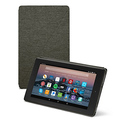 Amazon-Fire-7-Tablet-Case-7th-Generation-2017-Release-Charcoal-Black